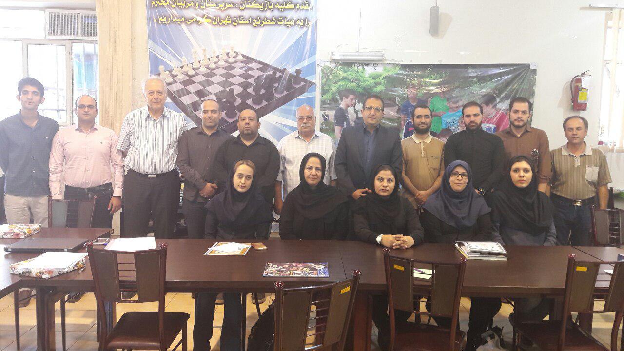 برگزاری اولین جلسه حوزه ها و شهرستان های استان تهران