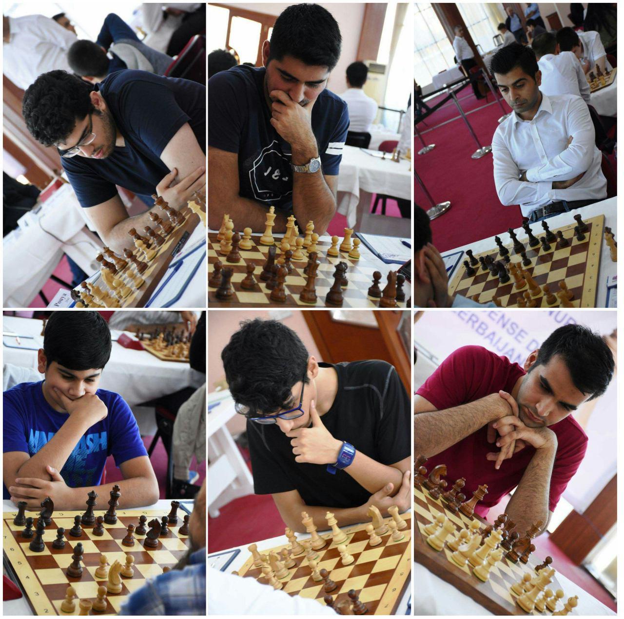 مسا بقات آزاد باکو با حضور تعدادی از شطرنجبازان ایران