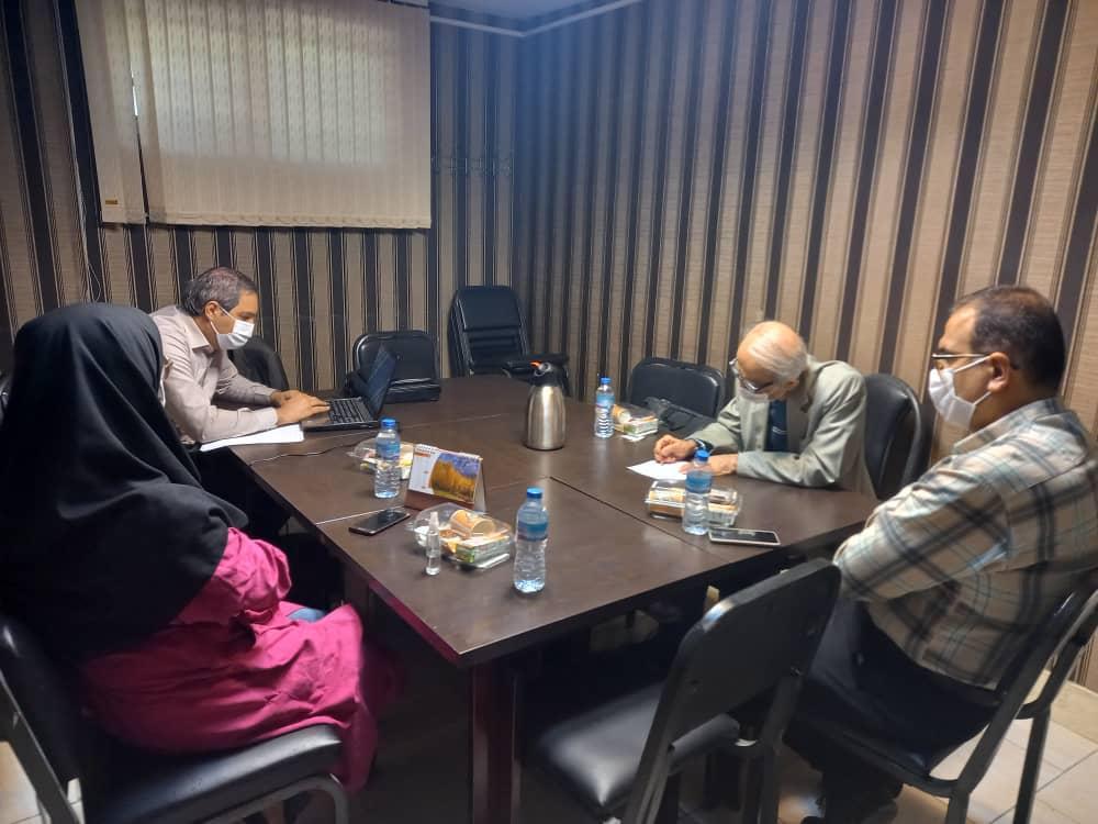 برگزاری جلسه کمیته مسابقات ،مورخ 25 مهر1400