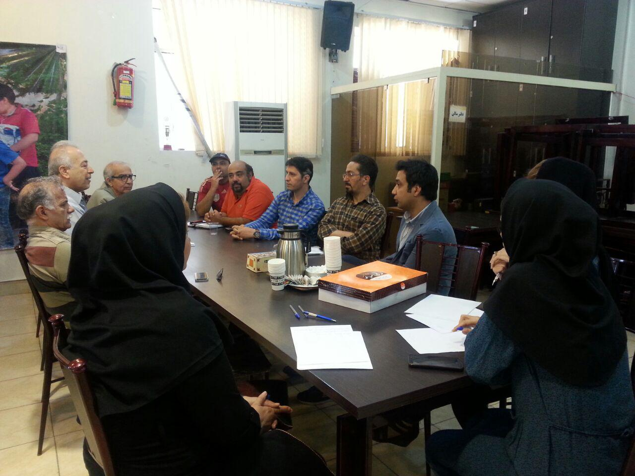 برگزاری جلسه هماهنگی لیگ های زیر 18 سال و بانوان استان تهران