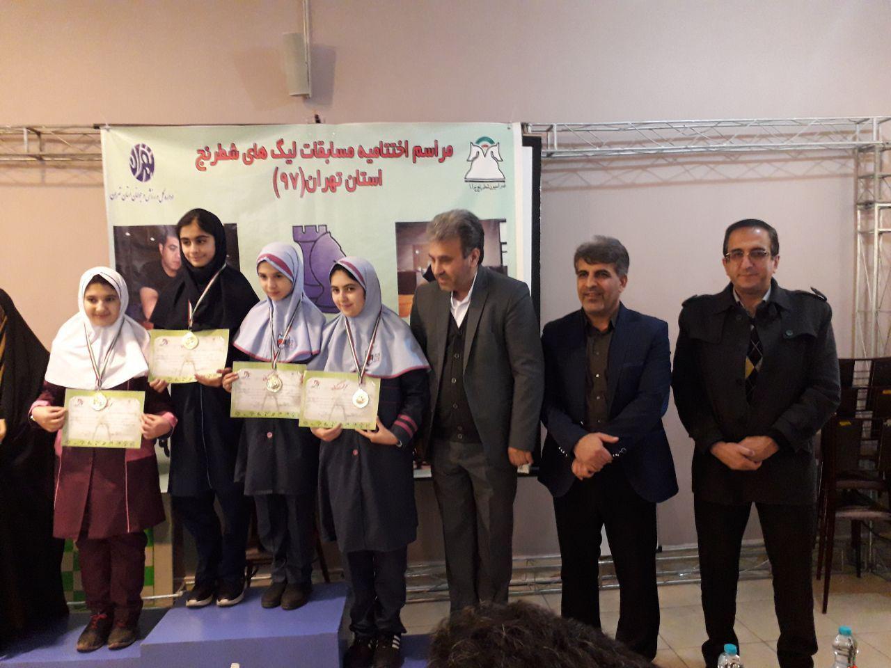 مسابقات آموزش و پرورذش استان تهران