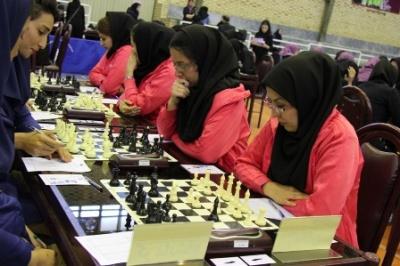 دانشگاه آزاد واحد البرز قهرمان مسابقات شطرنج دختران دانشگاه های آزاد کشور