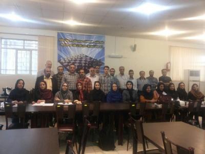 اولین جلسه فصلی روسای هیئت های شطرنج شهرستان و حوزه