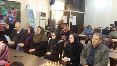سارا سادات خادم الشریعه قهرمان شطرنج بانوان ایران در سال 94 شد