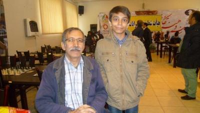 کاشفی(پدر و پسر) قهرمان اولین دوره مسابقات پدر و فرزند شد.