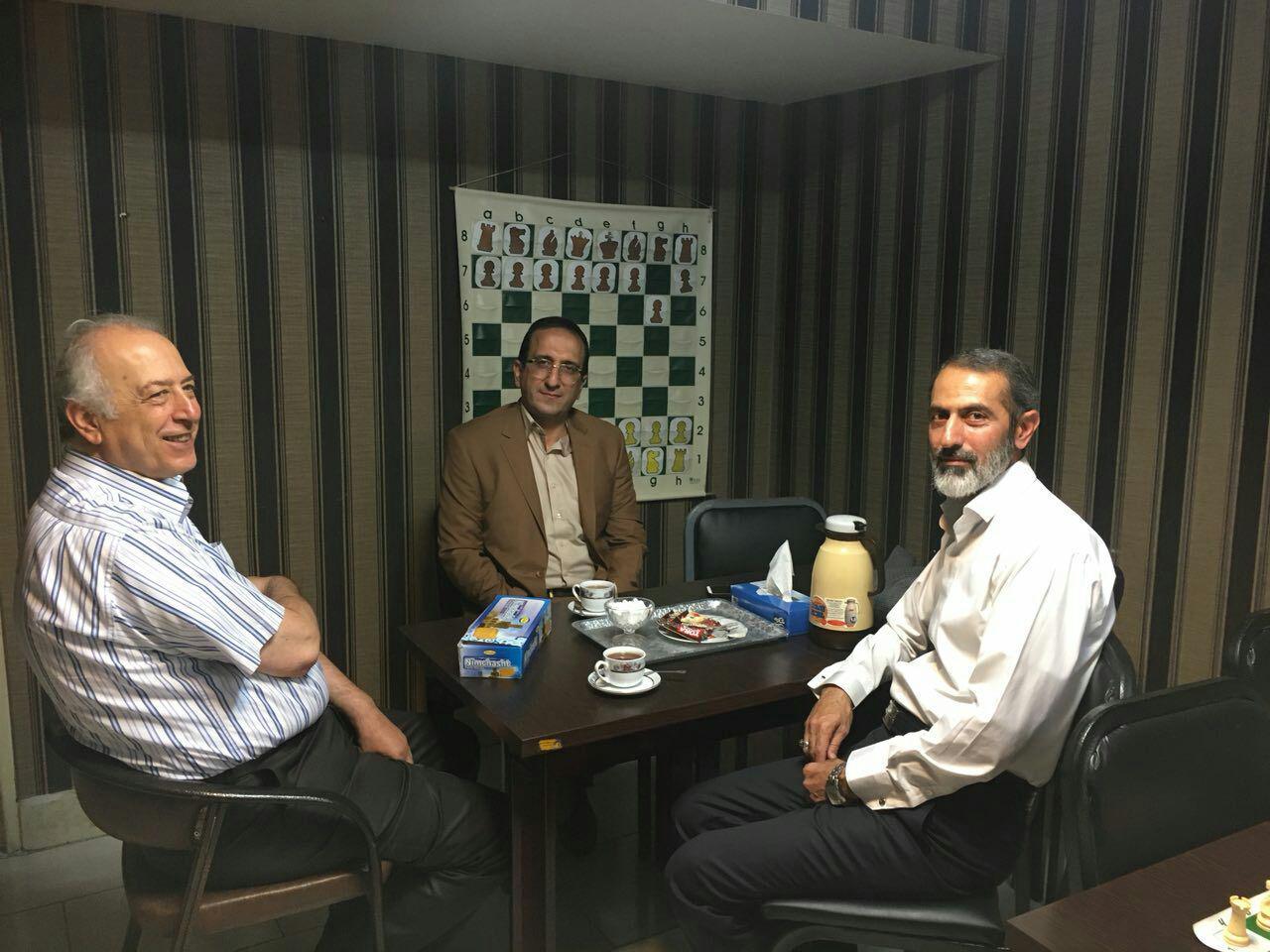 رییس اداره ورزش وجوانان شمال غرب امروز میهمان هیات شطرنج استان تهران بود.